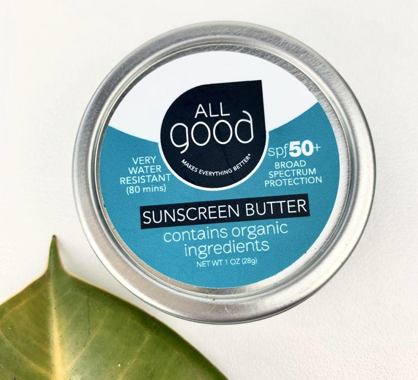 Reef-Safe Sunscreen Butter