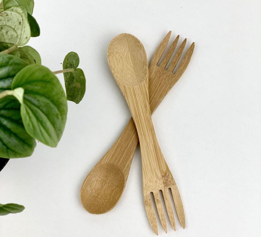Bamboo Spork (Set of 2)